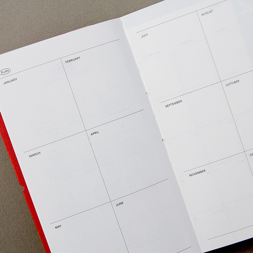 Yearly plan - GMZ 2021 Daily log medium dated weekly diary planner