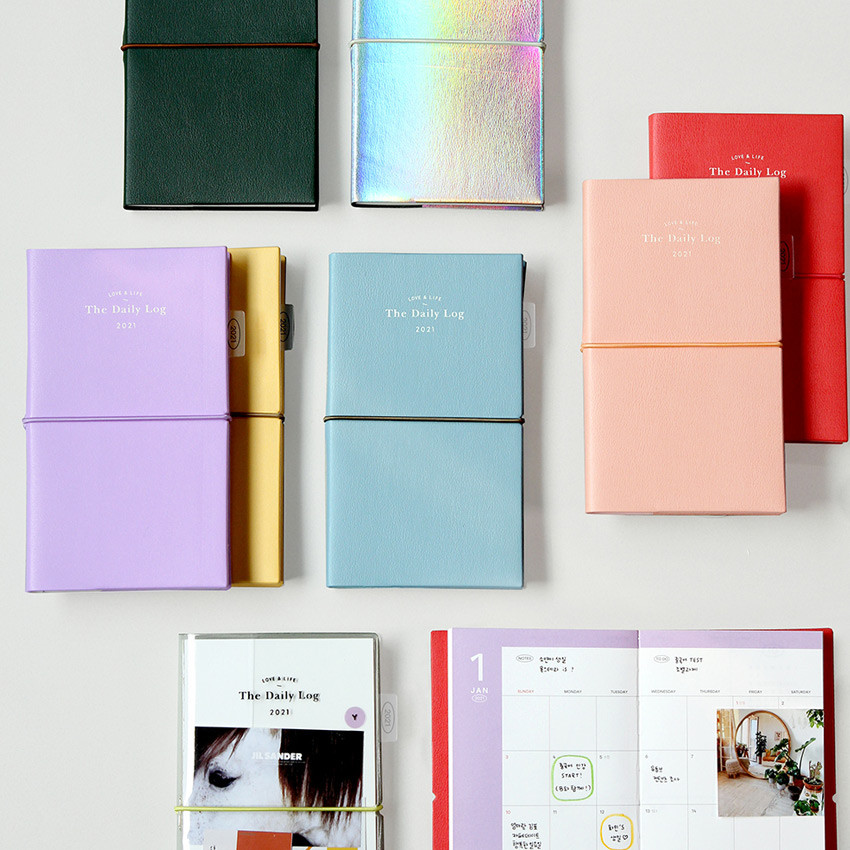 GMZ 2021 Daily log small dated weekly diary planner