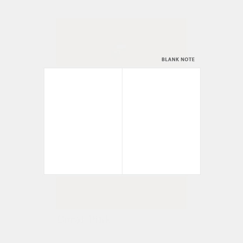 Blank note - 3AL Hello 2021 small dated weekly diary planner