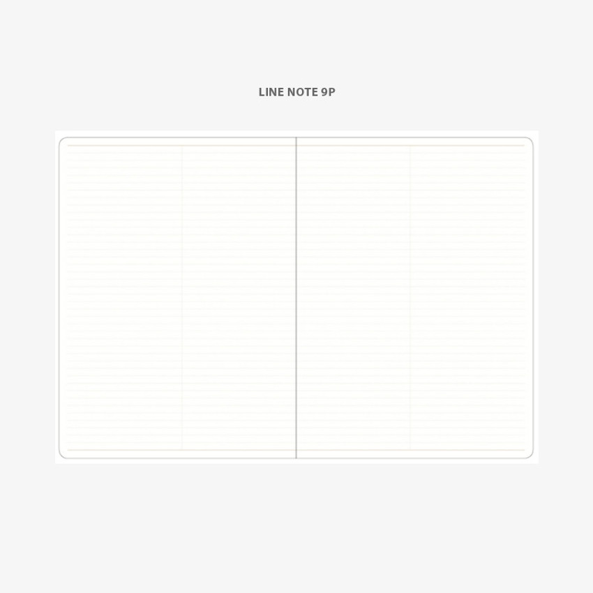 Lined note - 2021 Notable memory A4 dated weekly planner
