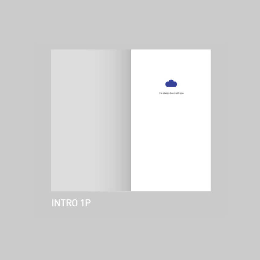 Intro - After The Rain 2021 Cloud story dated weekly diary planner