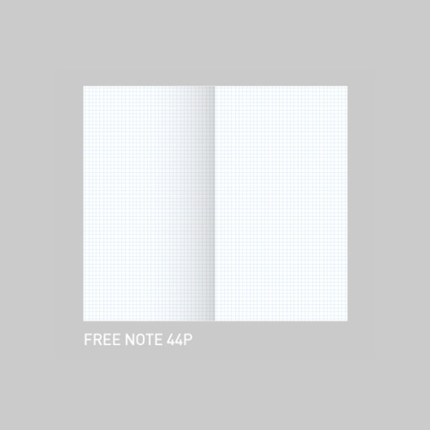 Free note - After The Rain 2021 Cloud story dated weekly diary planner