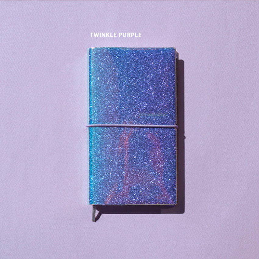 Twinkle Purple - After The Rain 2021 Twinkle cloud story dated weekly diary
