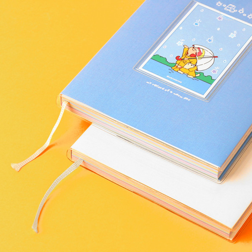 Ribbon bookmark - GMZ 2021 My record of a warm day dated weekly diary