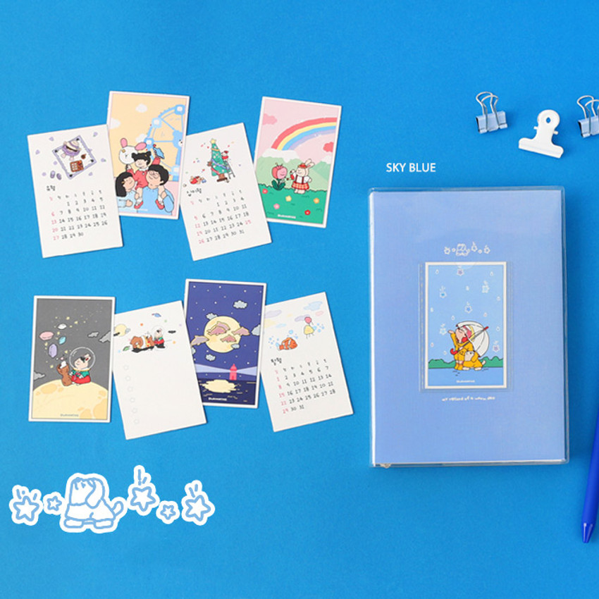 Sky blue - GMZ 2021 My record of a warm day dated weekly diary