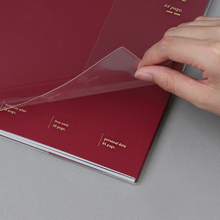 PVC cover - Wanna This 2021 Month classic medium dated monthly planner