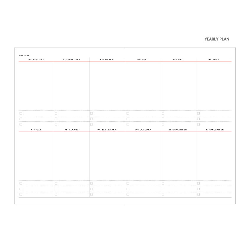 Yearly plan - Wanna This 2021 Month classic large dated monthly planner