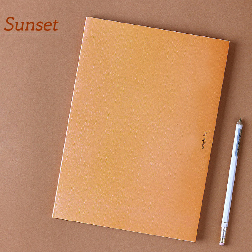 Sunset - Wanna This 2021 Delight log large dated monthly diary