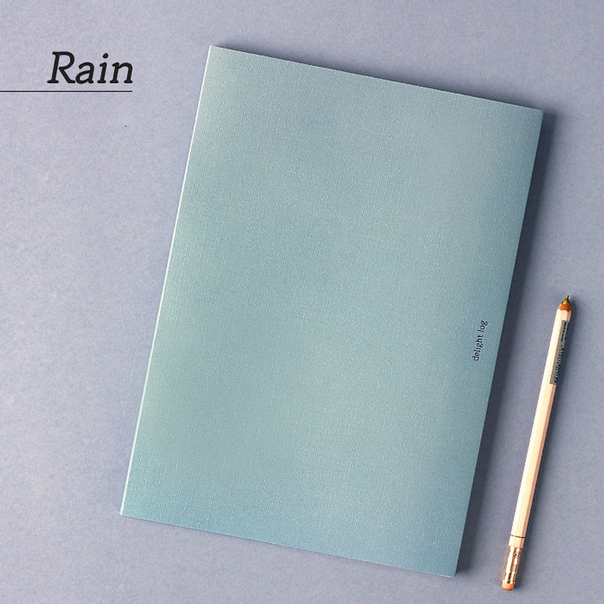 Rain - Wanna This 2021 Delight log large dated monthly diary