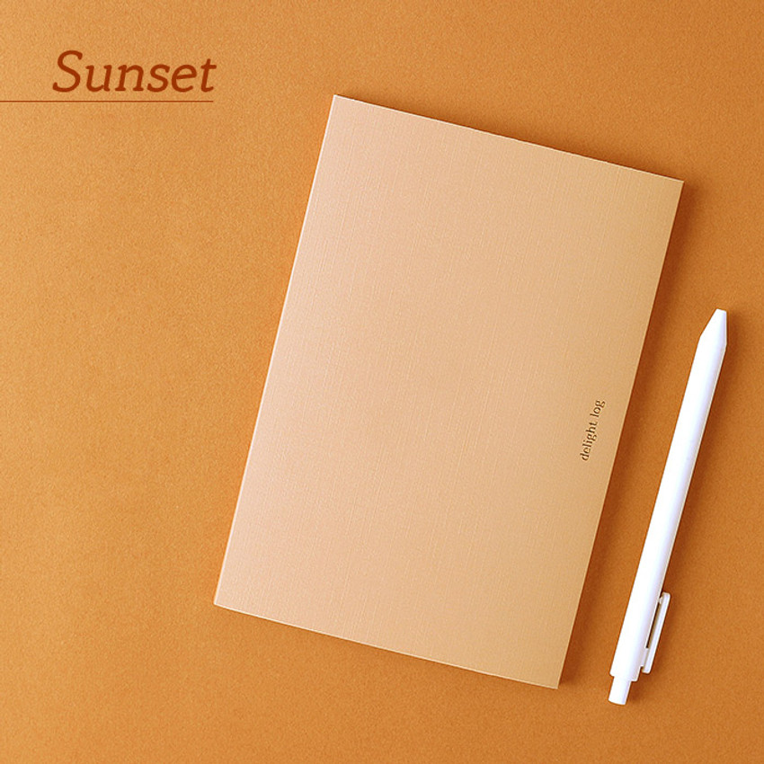 Sunset - Wanna This 2021 Delight log medium dated monthly diary