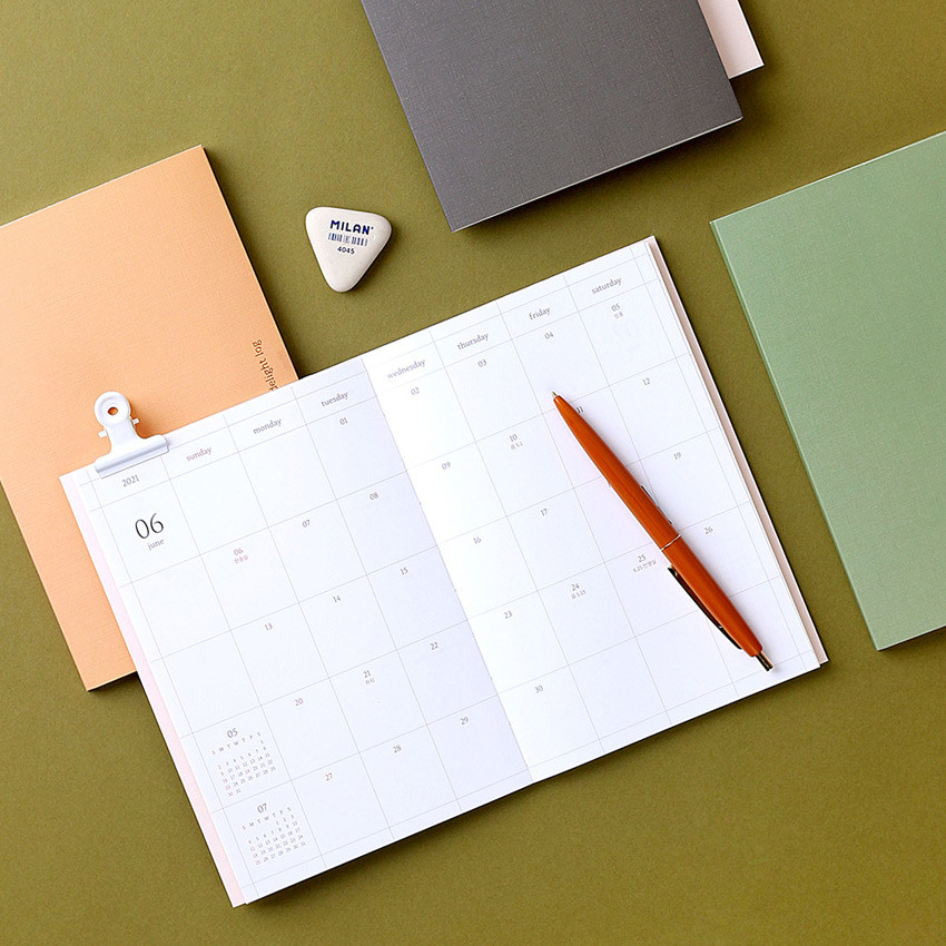 Wanna This 2021 Delight log medium dated monthly diary