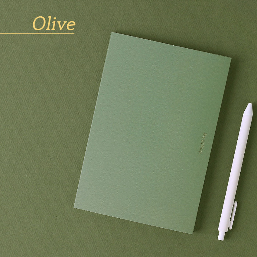 Olive - Wanna This 2021 Delight log medium dated monthly diary