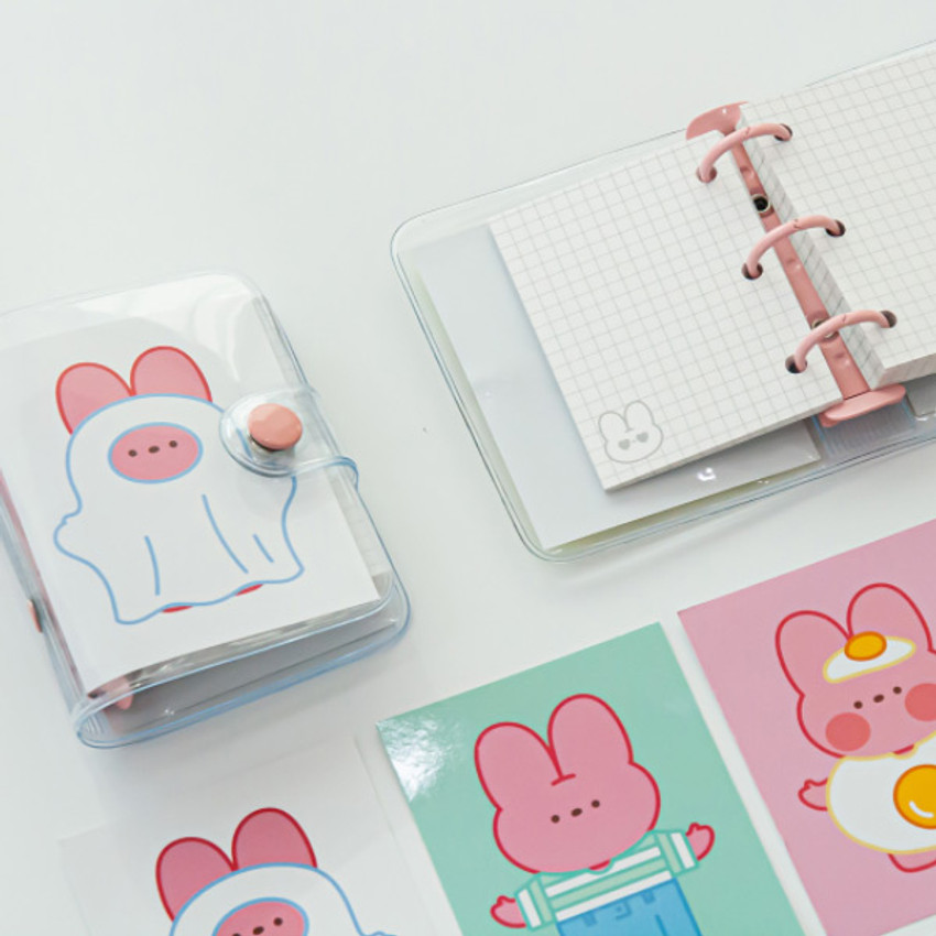 DESIGN GOMGOM Reeli 3-ring grid notebook