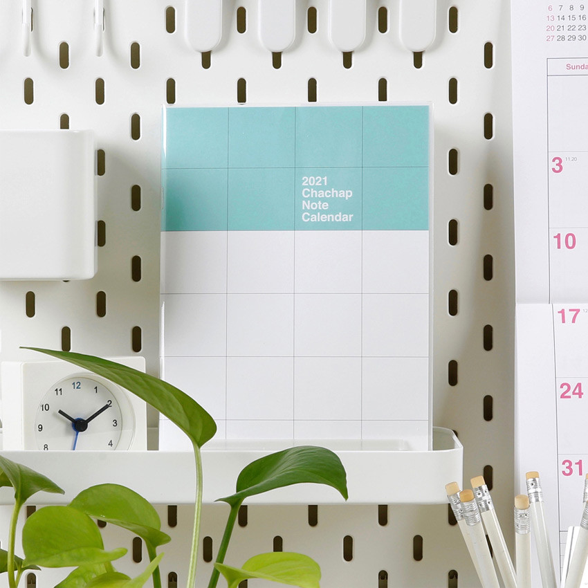 Chachap 2021 Note dated monthly diary planner