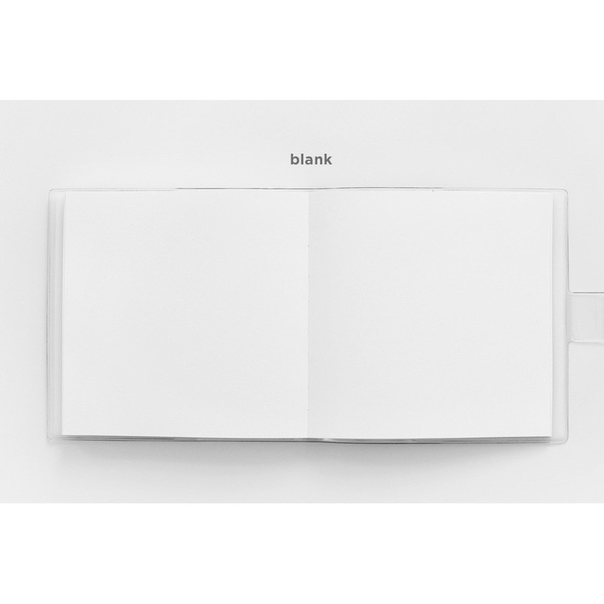 Blank note - 2NUL Square drawing dateless weekly diary planner