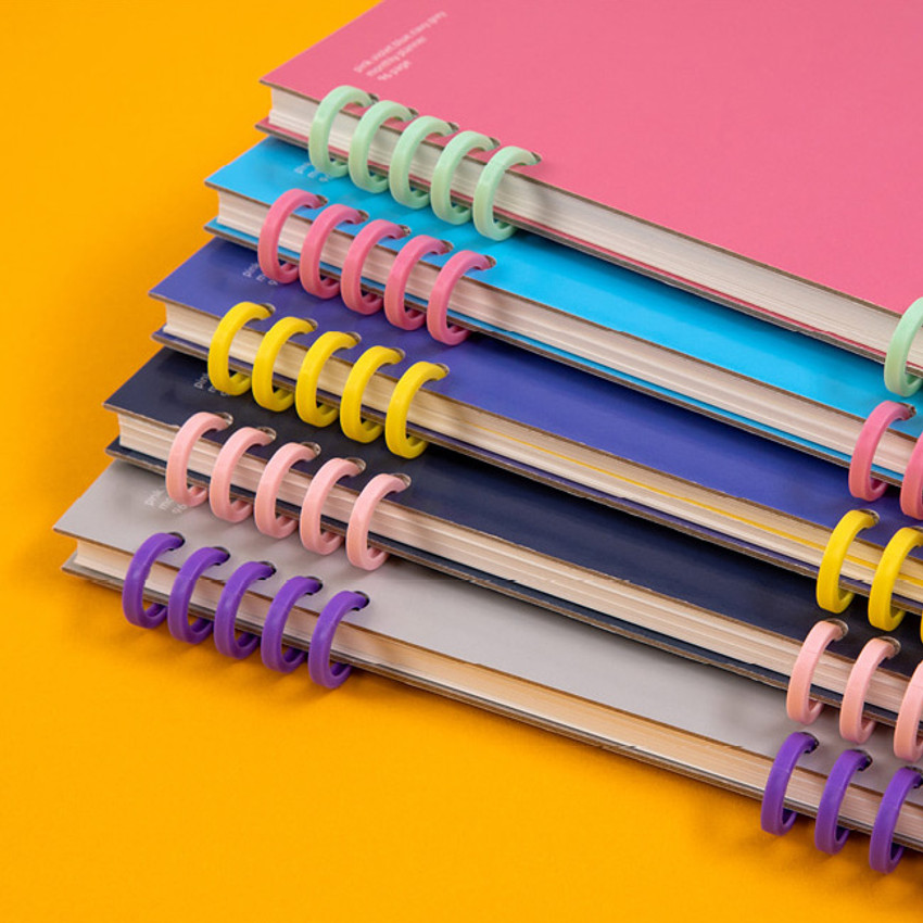 Wire binding - Ardium Color pop 10 rings dateless monthly diary planner