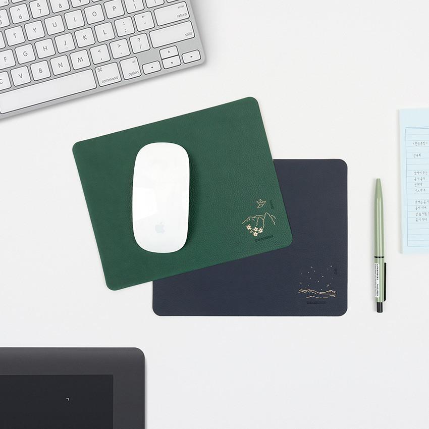 Bookfriends Korean literature reversible mouse pad
