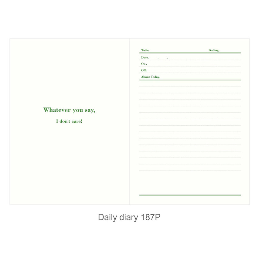 Daily diary - Ardium About today dateless daily diary planner