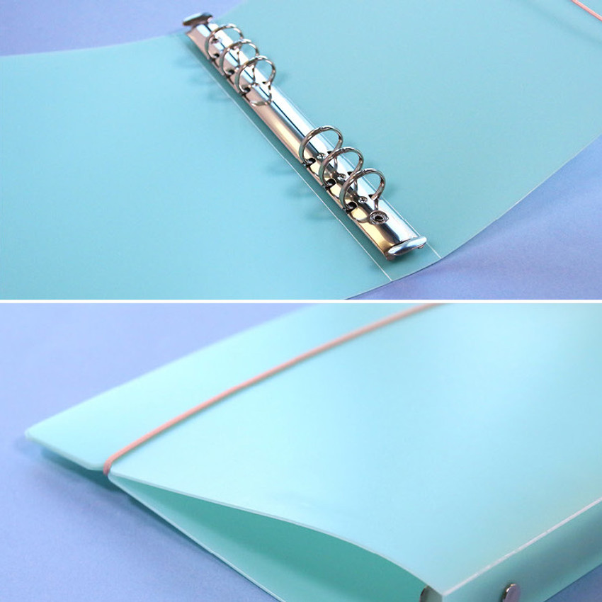 6 ring binder - Second Mansion A5 size PP cover 6 ring binder