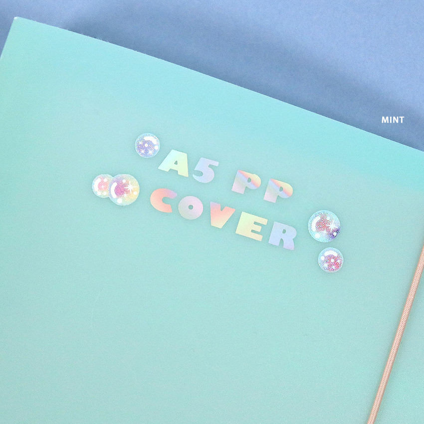 Mint - Second Mansion A5 size PP cover 6 ring binder