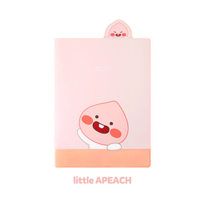 Apeach - Kakao Friends 2021 Friends bookmark dated weekly diary