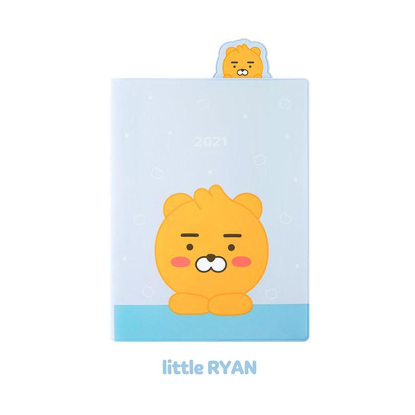 Ryan - Kakao Friends 2021 Friends bookmark dated weekly diary