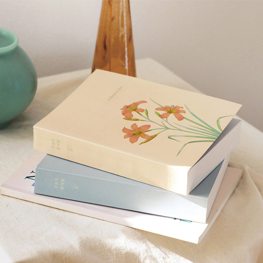 Indigo A Flowery day dated daily diary journal