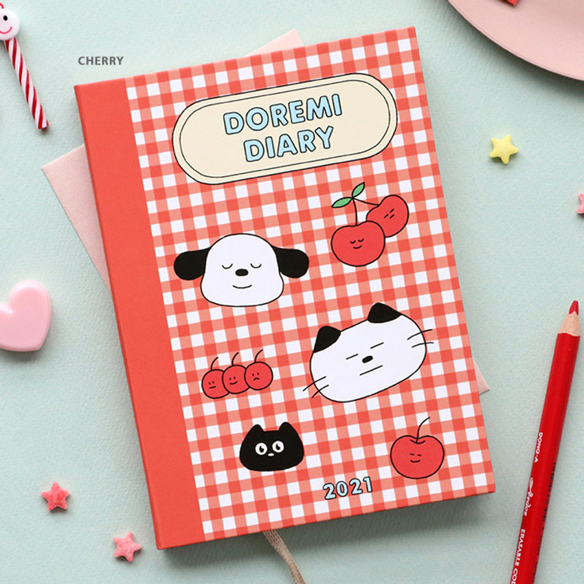 Cherry - ICONIC 2021 Doremi dated weekly diary planner