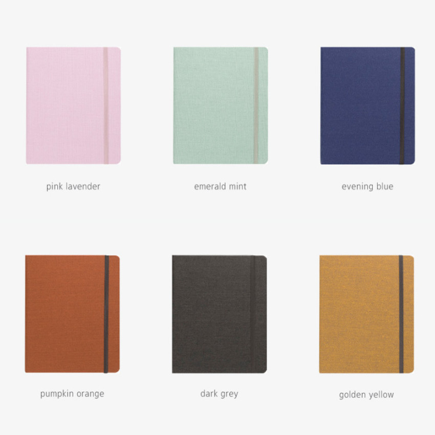 Color - Byfulldesign Making memory small and wide blank notebook