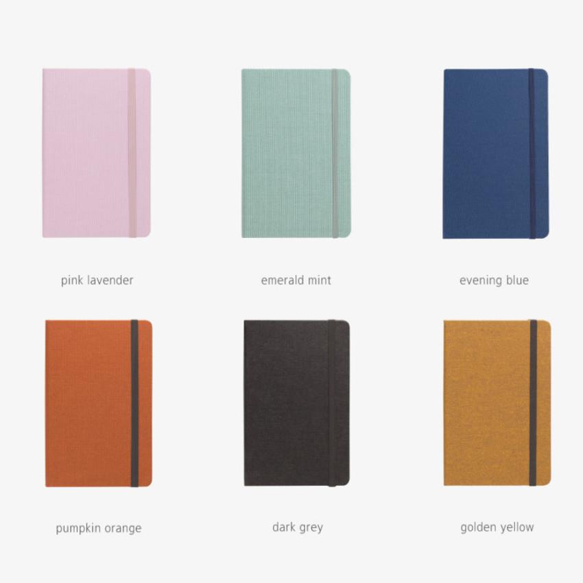 Color - Byfulldesign Making memory medium blank notebook ver2