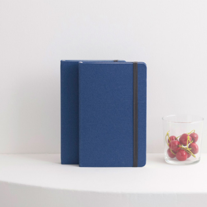 Evening blue - Byfulldesign Making memory medium lined notebook ver2