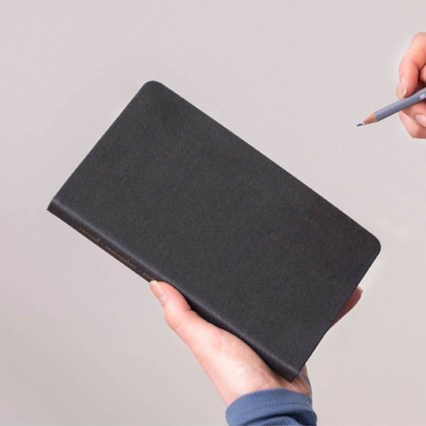 Dark gray - Byfulldesign Making memory medium lined notebook ver2