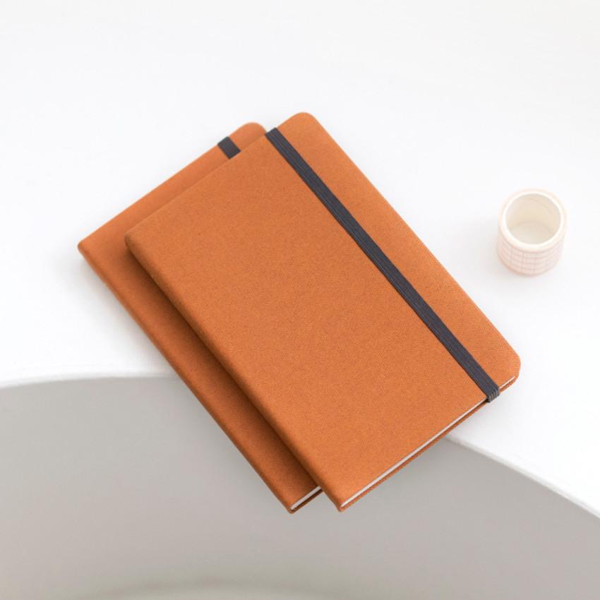 Pumpkin Orange - Byfulldesign Making memory medium lined notebook ver2