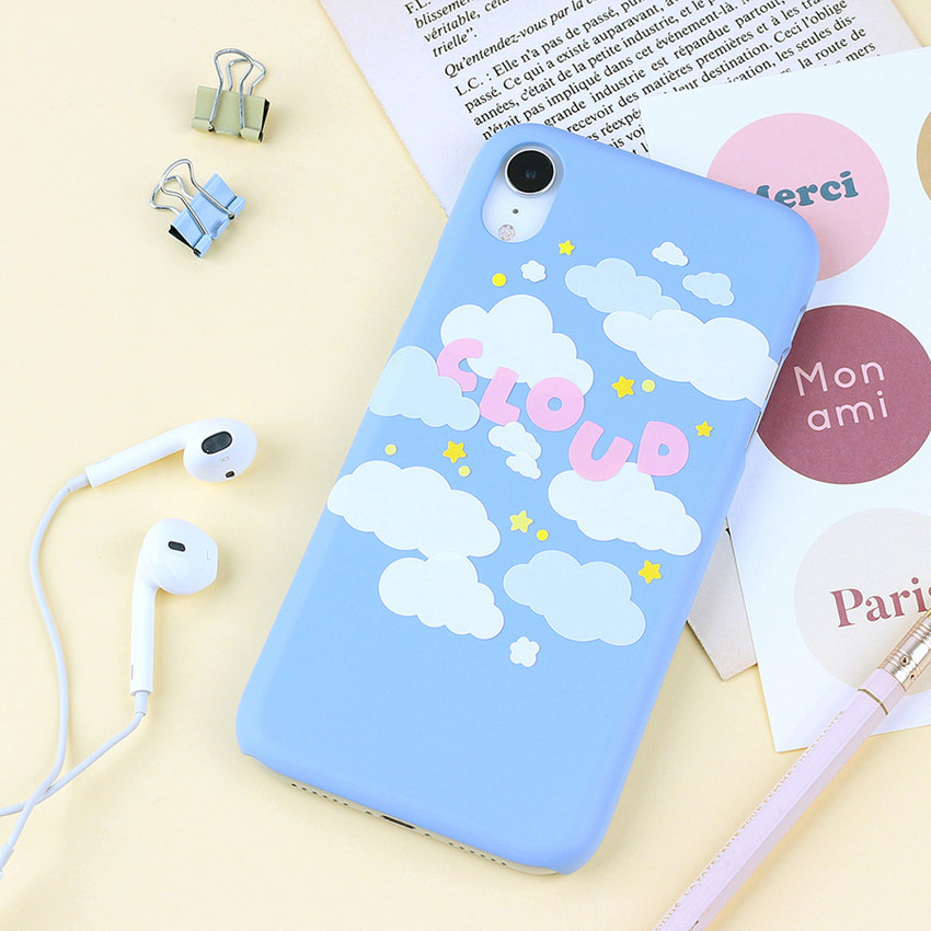 Usage example - Wanna This Forest's cloud paper sticker