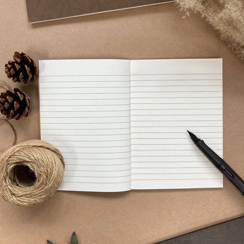 Lined paper - O-CHECK Le cahier classic small lined and plain notebook