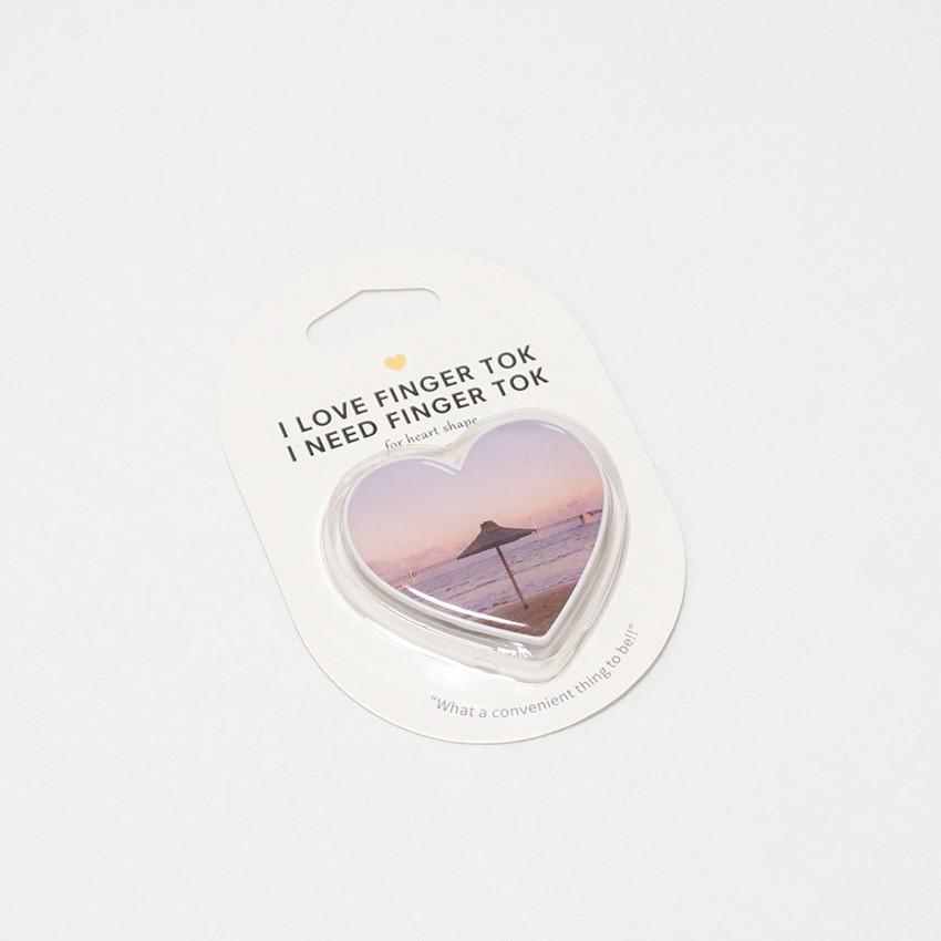 Package - Meri Film Pink heart sunset pop up phone grip holder