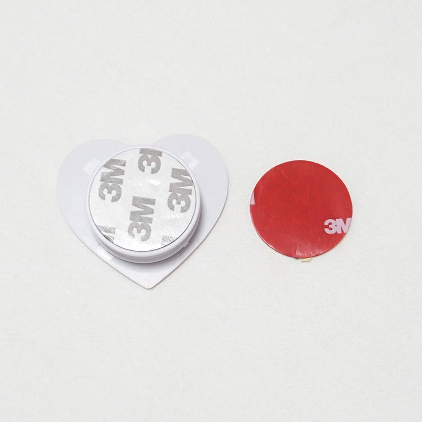 3M sticker - Meri Film Pink heart sunset pop up phone grip holder