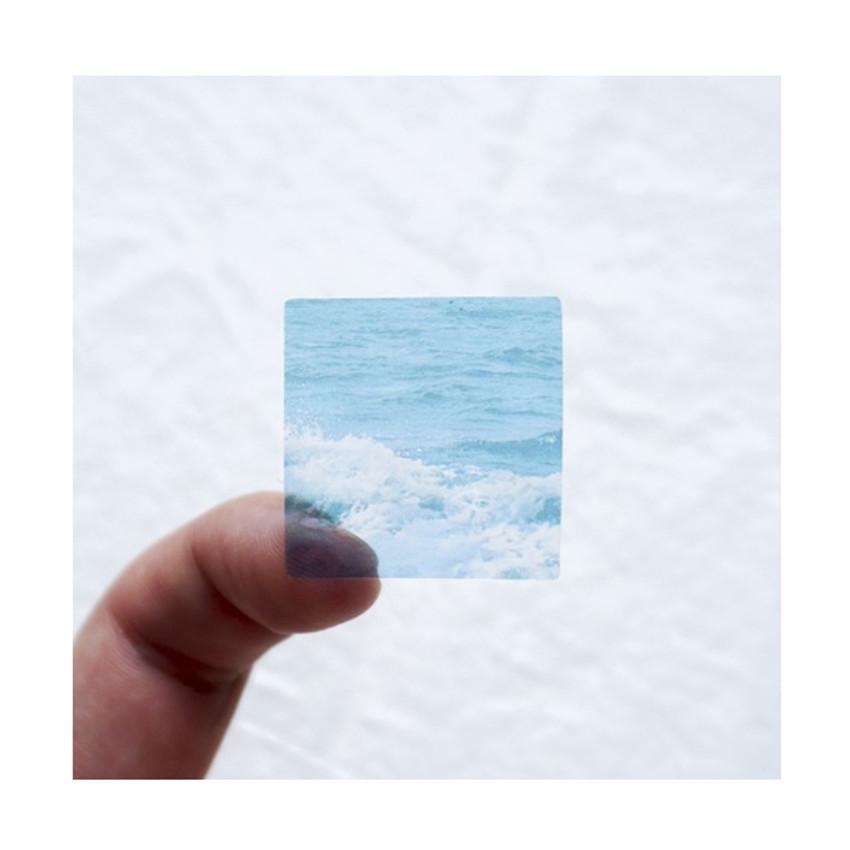 Translucent  sticker - Meri Film Ocean color chips translucent sticker set