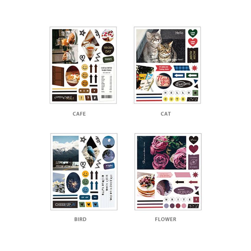 Option - Ardium Mood decorative paper sticker