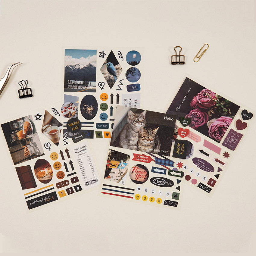 Ardium Mood decorative paper sticker