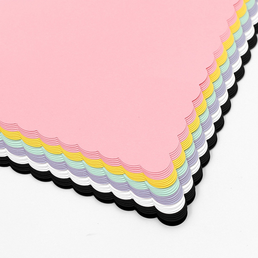 Detail of 2NUL Biscuit wide A6 6 ring blank note paper refill set