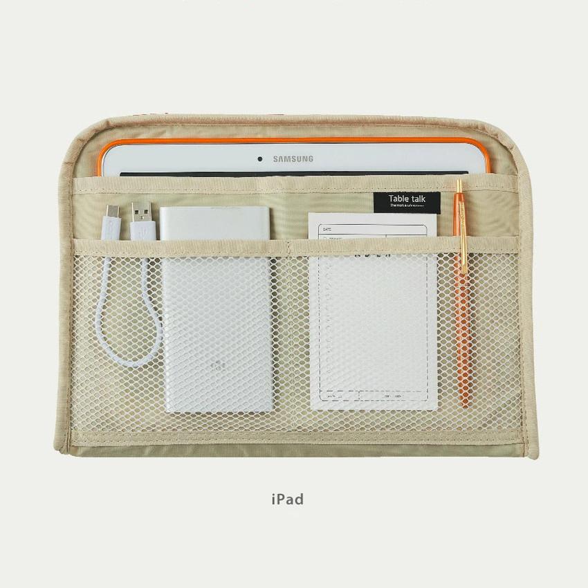 "iPad - Bichon Frise boucle iPad 13"" laptop zipper sleeve case pouch"