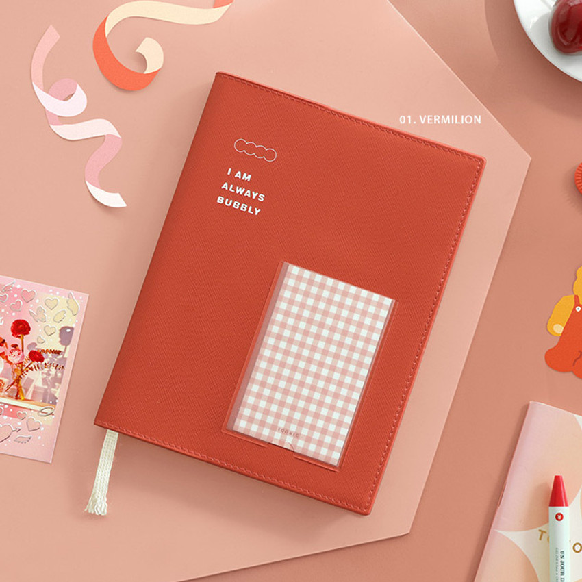 Vermilion - ICONIC Bubbly dateless weekly diary planner