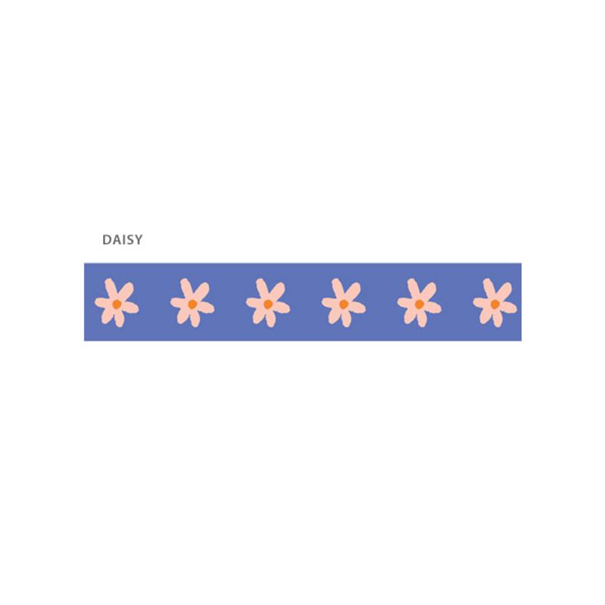 Daisy - O-CHECK Illustration 15mm X 10m paper masking tape