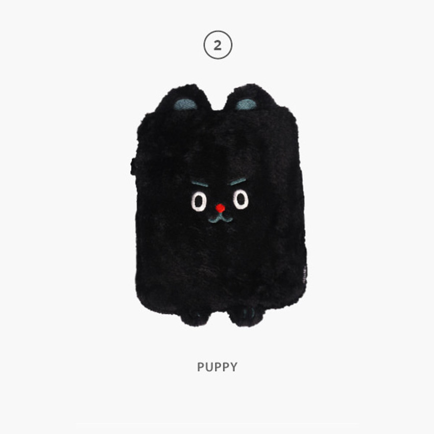 """Puppy - Jucy and Paul 11"""" iPad tablet PC zipper sleeves case"""