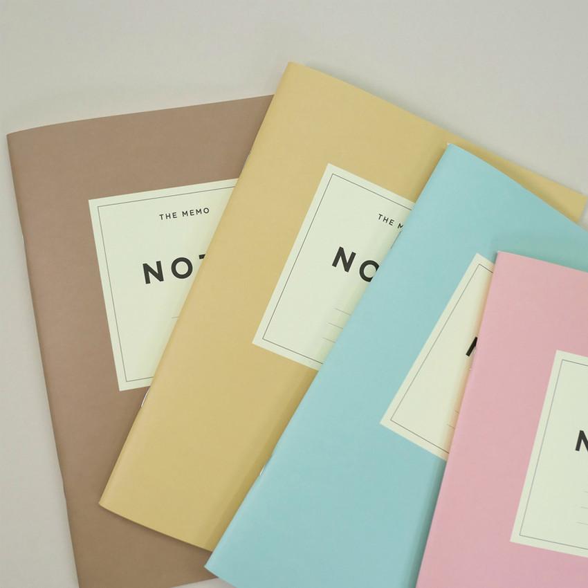 Gunmangzeung The Memo lined school notebook