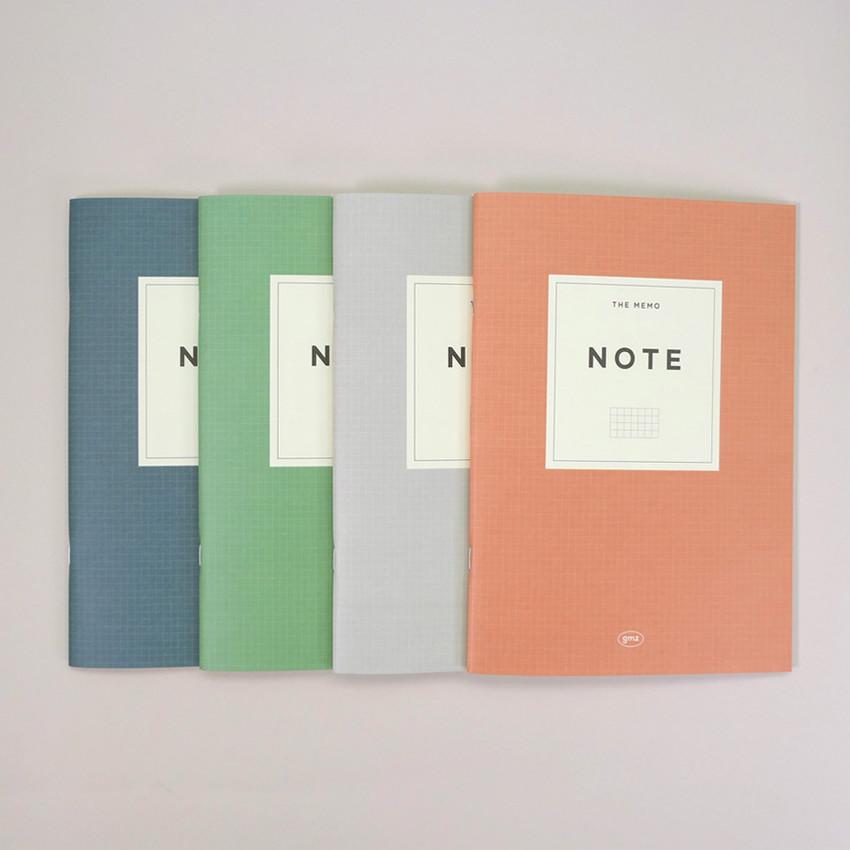 Gunmangzeung The Memo grid school notebook
