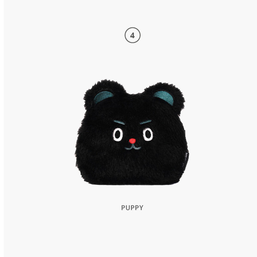 Puppy - Second Mansion Jucy and Paul cute mongle zipper pouch