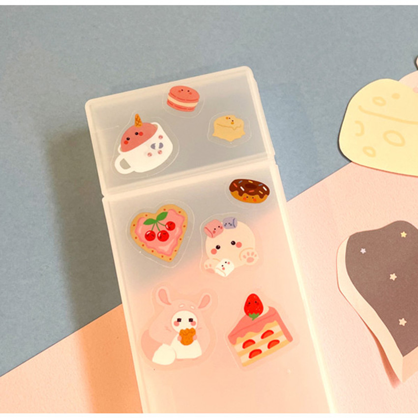 Usage example - Flying Whales Marimong PVC clear sticker