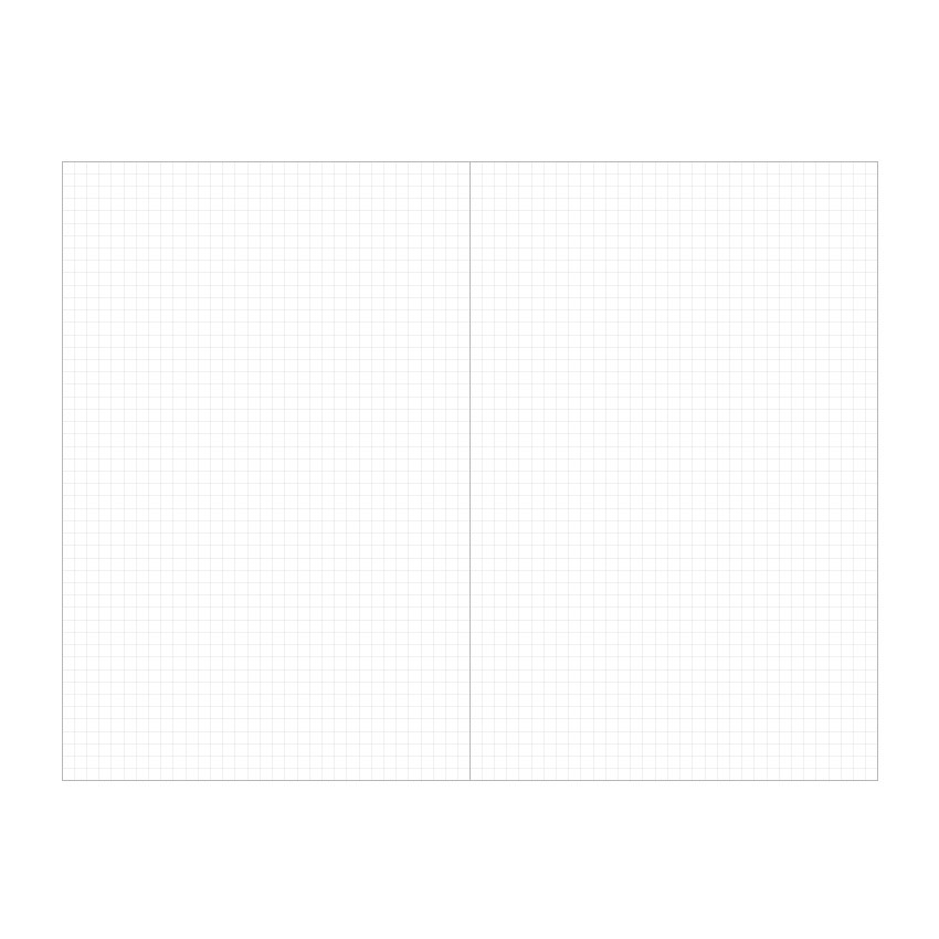 Grid notebook - Indigo Prism 200 hardcover grid notebook with elastic band